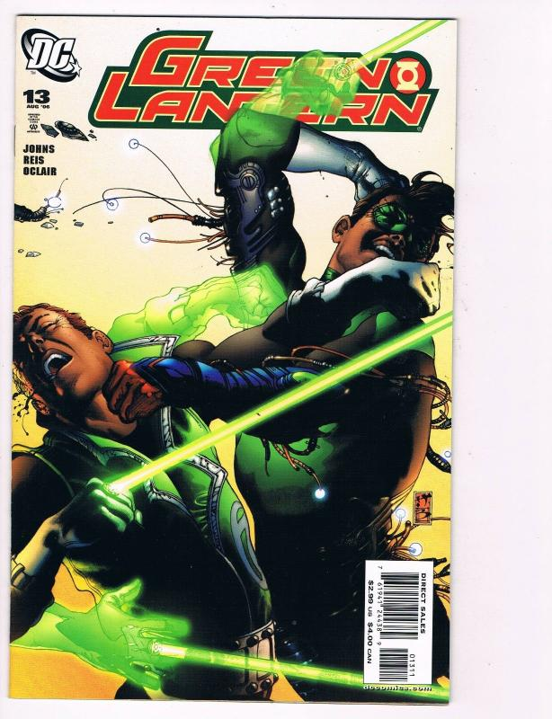 Green Lantern # 13 DC Comic Books Awesome Issue Sinestro Hal Jordan WOW!!!!! S24