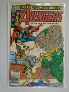 Avengers #222 Newsstand edition 6.0 FN (1982 1st Series)