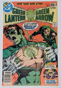 Green Lantern #110 (Nov 1978, DC) VF- 7.5 Golden Age Green Lantern backup story