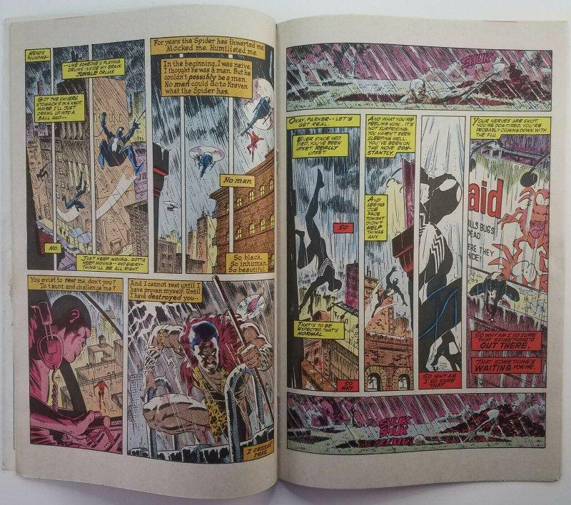 Web of Spider-Man 31   Kraven Appearance Last Hunt  1985   Newsstand   Marvel