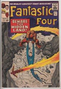 Fantastic Four #47 (Feb-66) VF+ High-Grade Fantastic Four, Mr. Fantastic (Ree...