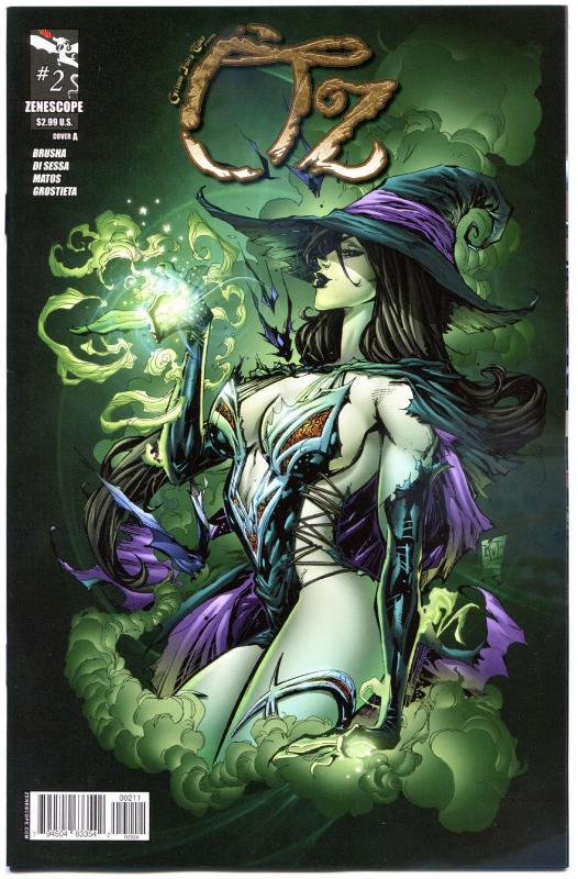 GRIMM FAIRY TALES presents OZ #2 A, VF/NM, Dorothy, 2013, more GFT in our store