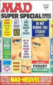 Mad Special #16, VF- (Stock photo)