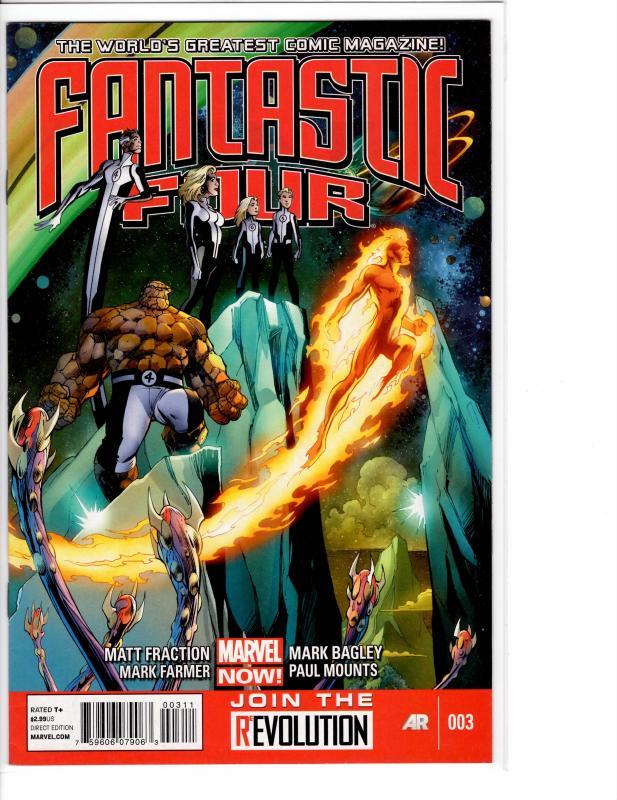 Fantastic Four (2013) 3 VF/NM (9.0)