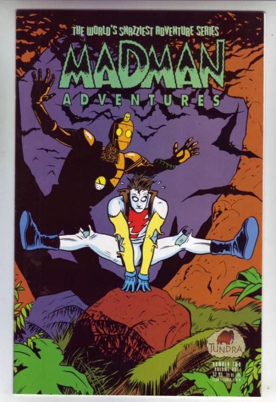 Madman Adventures #2 (Jan-93) NM/NM- High-Grade
