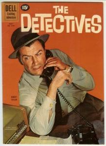 DETECTIVES  (1961 DELL) F.C.1168 F+ Robert Taylor 1961 COMICS BOOK