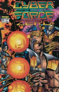 CYBERFORCE  25-Different, Mutant Super Hero Team,