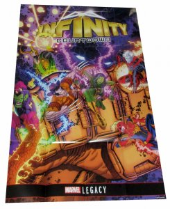 Marvel Legacy Infinity Countdown Folded Promo Poster (36 x 24) - New!