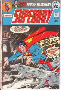 SUPERBOY 180 VF+ LEGION BACK UPS   December 1971 COMICS BOOK