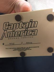 Captain America Bowen Statue Mint (box Shows Wear) 456/4000