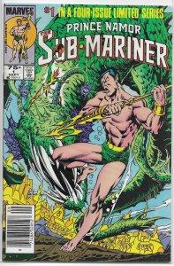 Prince Namor the Sub-Mariner   #1 of 4 FN