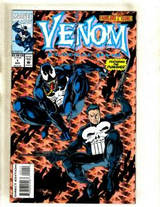 Lot Of 5 Venom Marvel Comic Books # 1 2 3 Funeral Pyre + Tooth Claw # 2 3 HY1