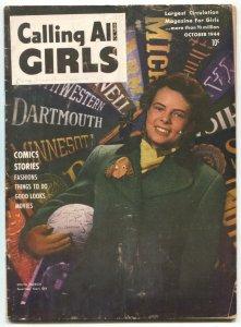 Calling All Girls #33 1944- Judy Wings-Sonya Aldrich VG