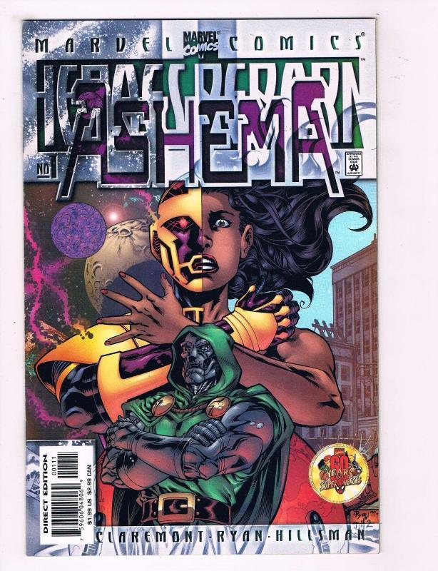 Lot Of 7 Heroes Reborn Marvel Comics Doom Doomsday Rebel Ashema Remnants # 1 CH9