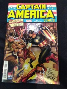 Captain America Anniversary Tribute #1 Mark Brooks Homage Variant 2021