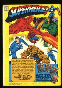Incredible Hulk Book and Record Set #11 VG+ 4.5 PR w/ Record!