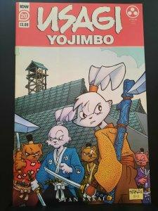 Usagi Yojimbo #20 IDW Comics 2021 VF+ 1st Appearance Yukichi Yamamoto