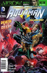 Aquaman (7th Series) #16 (Newsstand) FN; DC | save on shipping - details inside