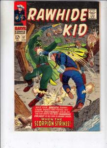 Rawhide Kid #57 (Apr-67) VF- High-Grade Rawhide Kid