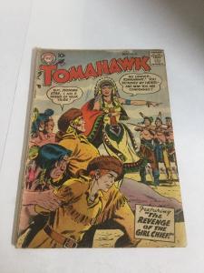 Tomahawk 52 Gd Good 2.0 DC Comics Silver Age