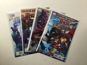 Iron Man Thor 1-4 1 2 3 4 Lot Run Set Limited Series Near Mint Nm Marvel