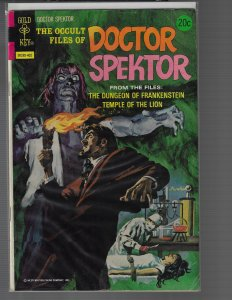 Doctor Spektor #6 (Gold Key, 1974)