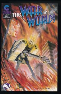 The War of the Worlds #3, Caliber Press (HX156)