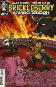 Brickleberry #3 VF/NM; Dynamite | save on shipping - details inside