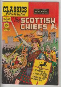 Classics Illustrated #67 (Jul-51) VG/FN+ Mid-Grade