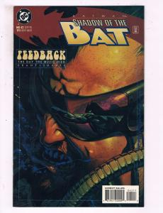 Batman Shadow Of The Bat #42 VF DC Comics Feedback Comic Book DE16