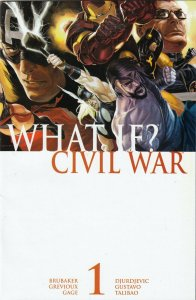 WHAT IF?  CIVIL WAR#1  VF/FN   FIRST PRINT  MARVEL COMICS  WHAT SIDE ARE YOU ON!