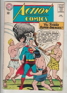 Action Comics #320 (Jan-65) FN/VF High-Grade Superman, Supergirl