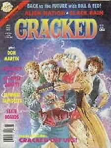 Cracked #253 VG; Globe | low grade comic - save on shipping - details inside