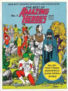 Best of Amazing Heroes, The #1 VG; Fantagraphics | low grade comic - save on shi
