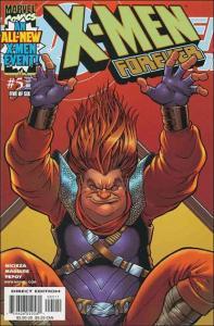 Marvel X-MEN FOREVER (2001 Series) #5 NM