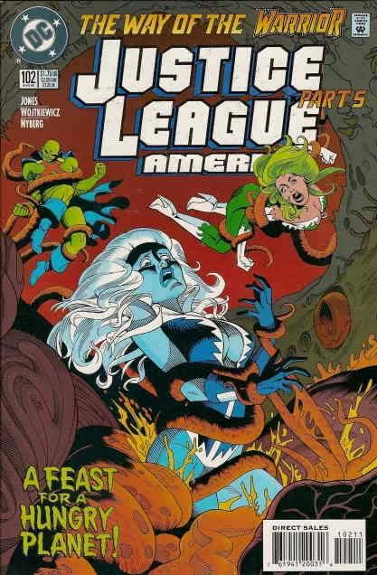 Justice League America #102 VF/NM; DC | save on shipping - details inside