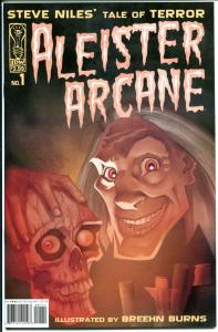 ALEISTER ARCANE #1, FN+, Steve Niles, Horror, Tale of Terror, IDW, 2004