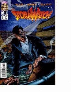Lot Of 2 Comic Book Image Stormwatch #43 and 10th Muse #6  MS20