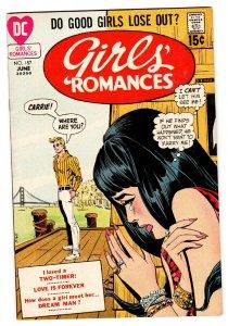 Girls' Romances #157 1970- DC Romance comic VF