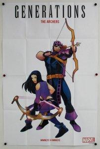 Generations: Hawkeye & Hawkeye Folded Promo Poster [P62] (36 x 24) - New!