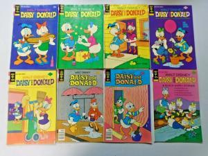 Donald Duck lot 32 different books VG condition (silver + bronze age eras)
