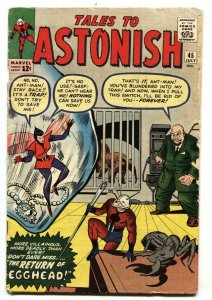 TALES TO ASTONISH #45 ANT-MAN-2nd appearance Wasp-Marvel Kirby