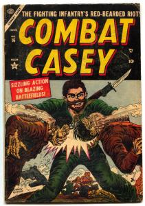 Combat Casey #16 1954- Korean War Atlas Comic VG