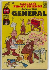 Sad Sack's Funny Friends #72 1968-Harvey-The General-VF
