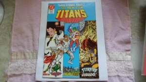 1986 DC COMICS THE NEW TEEN TITANS # 22