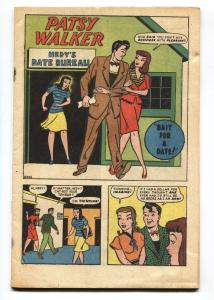 Patsy Walker #17 comic book 1948- Timely Golden Age- Kurtzman- Georgie