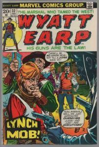 WYATT EARP (1972) 32 VG  Feb. 1973