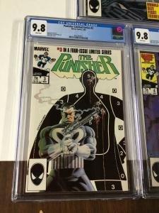 Punisher Limited Series #3 - CGC 9.8
