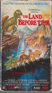 The Land That Time Forgot VHS The Popular Animated Franchise from Speilberg