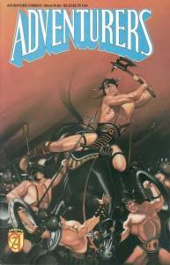 Adventurers: Book III #4, NM (Stock photo)